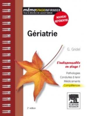 Gériatrie - elsevier / masson - 9782294714740 -