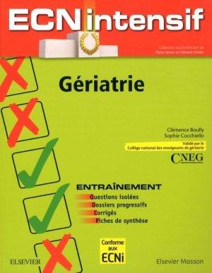 Gériatrie - elsevier / masson - 9782294736957 -