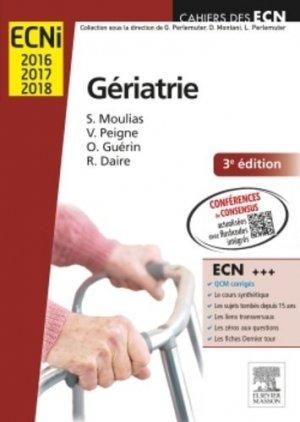 Gériatrie - elsevier / masson - 9782294742866 -
