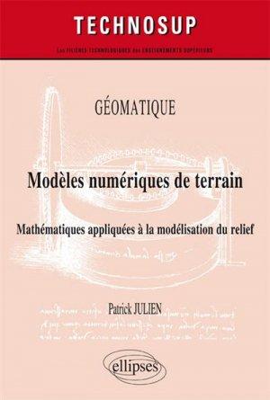 Géomatique - Modèles numériques de terrain - ellipses - 9782340011786