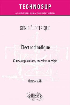 Génie électrique Électrostatique - ellipses - 9782340019713