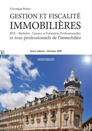 Gestion et fiscalité immobilières - complicités - 9782351202357 -