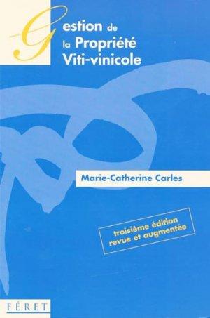 Gestion de la propriété viti-vinicole - feret - 9782351560143 -