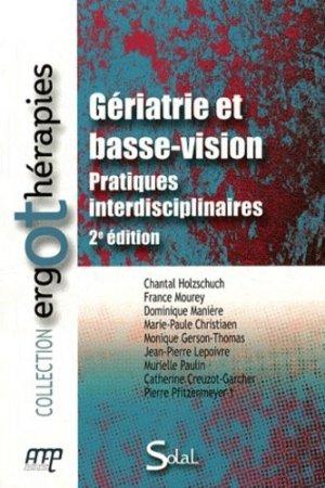 Gériatrie et basse-vision - solal - 9782353271436 -