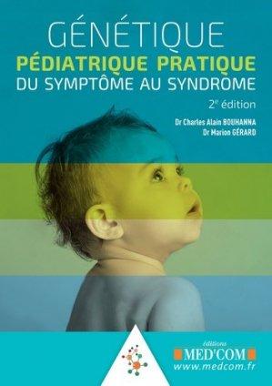Génétique pédiatrique pratique - med'com - 9782354032593