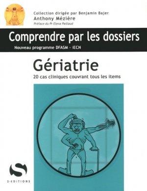 Gériatrie - s editions - 9782356401151 -