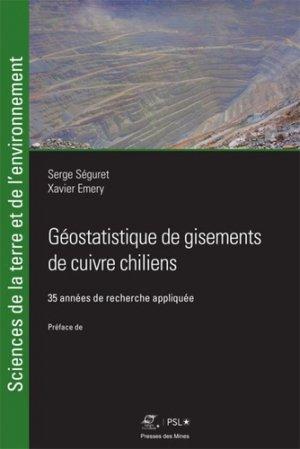 Géostatistique de gisements de cuivre chiliens - presses des mines - 9782356715623 -