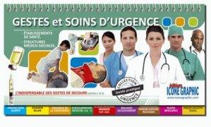 Gestes et soins d'urgence - icone graphic - 9782357382176 -