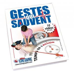 Gestes qui sauvent - icone graphic - 9782357385917 -