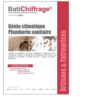 Génie climatique Plomberie sanitaire 2021 - batichiffrage - 9782358061285 -