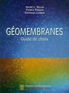 Géomembranes - presses internationales polytechniques - 9782553010231 -