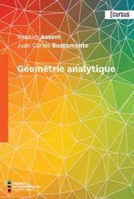 Géométrie Analytique - presses internationales polytechniques - 9782553017131