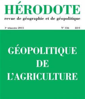 Géopolitique de l'agriculture - la decouverte  - 9782707185761 -