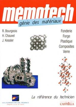Génie des matériaux - casteilla - 9782713533266 -