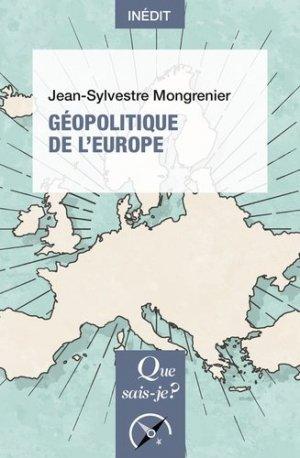 Géopolitique de l'Europe - puf - 9782715401020 -