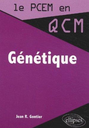 Génétique - ellipses - 9782729815486 -