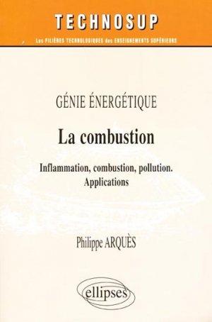 La combustion - ellipses - 9782729820374 -