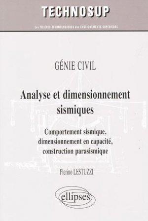 Analyse et dimensionnement sismiques - ellipses - 9782729841430 -
