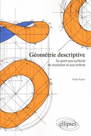 Géométrie descriptive - ellipses - 9782729843984 -