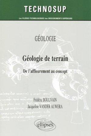Géologie de terrain - ellipses - 9782729863333 -