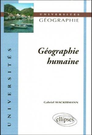 Géographie humaine - ellipses - 9782729869946 -