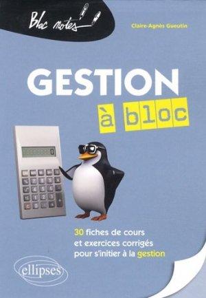 Gestion à bloc - Ellipses - 9782729877354 -