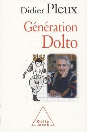 Génération Dolto - odile jacob - 9782738121554 -