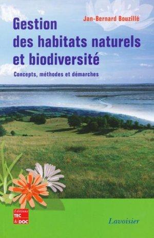 Gestion des habitats naturels et biodiversité - lavoisier / tec et doc - 9782743009878 -