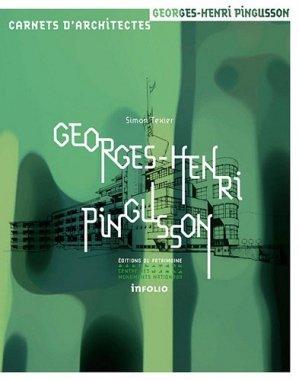 Georges-Henri Pingusson - infolio / du patrimoine - 9782757701805 -