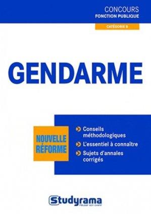Gendarme - Studyrama - 9782759015191 -
