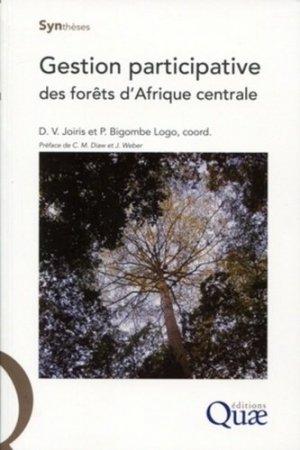 Gestion participative des forêts d'Afrique centrale - quae - 9782759208463 -