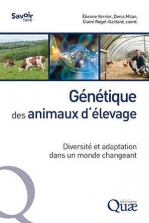 Génétique des animaux d'élevage - quae - 9782759230990 -