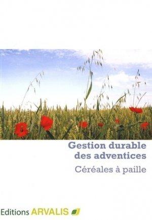Gestion durable des adventices Céréales à paille - arvalis - 9782817903408 -