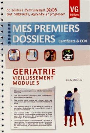 Gériatrie - Vieillissement - Module 5 - vernazobres grego - 9782818307373 -