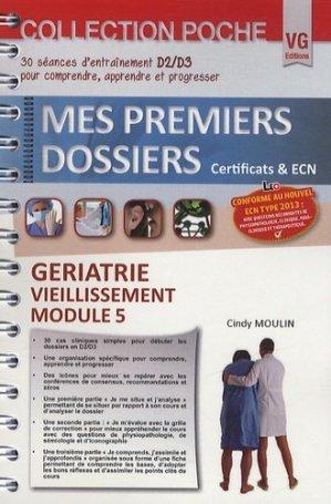 Gériatrie - Vieillissement - Module 5 - vernazobres grego - 9782818309216 -