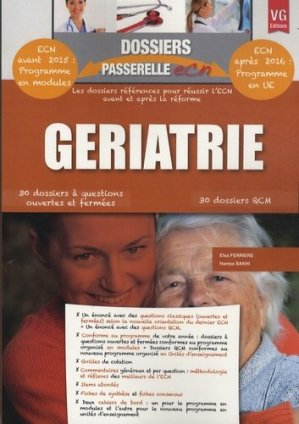 Gériatrie - vernazobres grego - 9782818310250 -