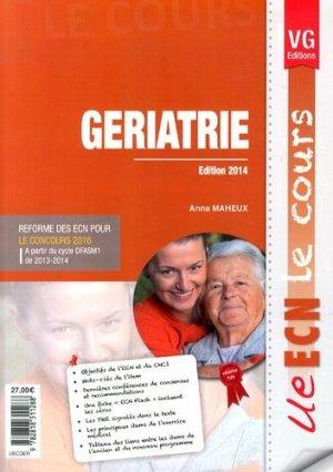 Gériatrie - vernazobres grego - 9782818311288 -