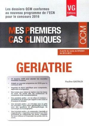 Gériatrie - vernazobres grego - 9782818312018