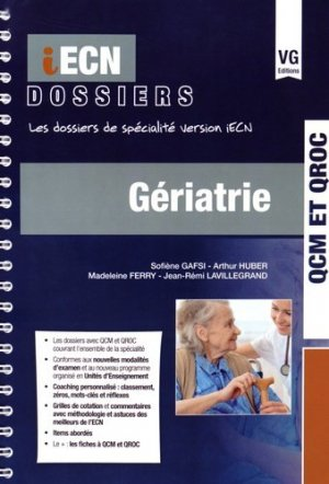 Gériatrie - vernazobres grego - 9782818312872 -