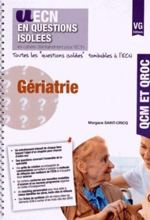 Gériatrie - vernazobres grego - 9782818312889 -
