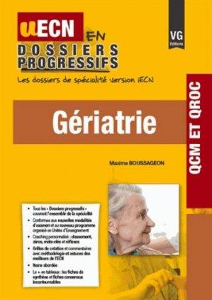 Gériatrie - vernazobres grego - 9782818313176 -