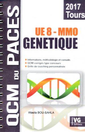 Génétique MMO Tours UE8 - vernazobres grego - 9782818316115 -