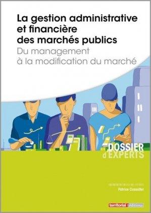 Gestion administrative et financière des marchés publics - territorial - 9782818613597 -
