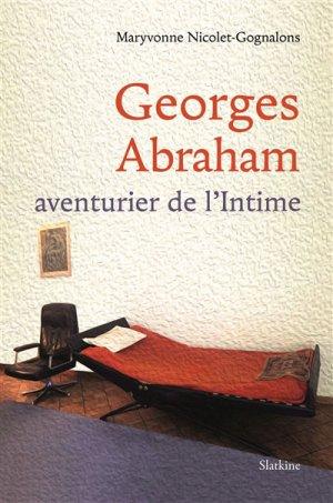 Georges Abraham - slatkine - 9782832108949 -