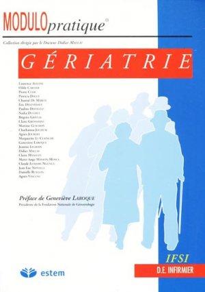 Gériatrie - estem - 9782843710964