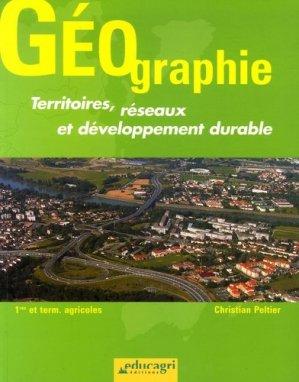 Géographie Territoires, réseaux et développement durable - educagri - 9782844444226 -