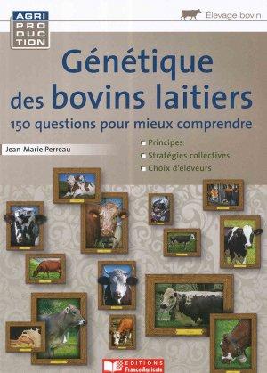 Génétique des bovins laitiers - france agricole - 9782855574394 -