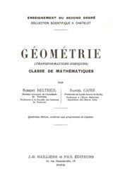 Géométrie - jacques gabay - 9782876473461 -