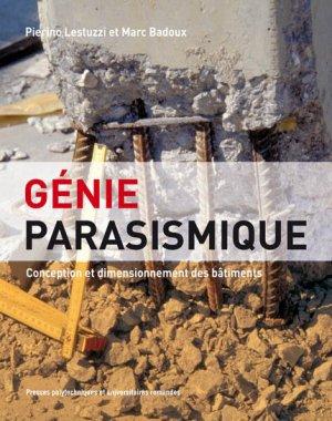 Génie parasismique - presses polytechniques et universitaires romandes - 9782880747473 -