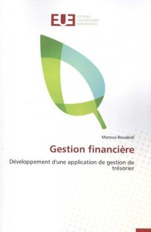 Gestion financière - Editions Universitaires Européennes - 9783841745231 -